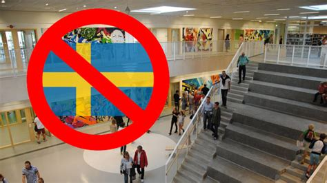 Sweden: The Swedish flag was banned at elementary school