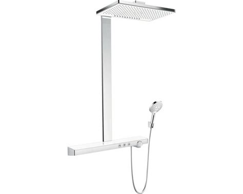 Duschsystem mit Thermostat hansgrohe Rainmaker Select