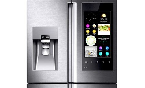 Samsung outs a smart refrigerator with cameras and an