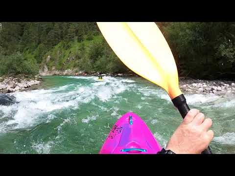 Free Rafting on river Salza Stock Photo - FreeImages