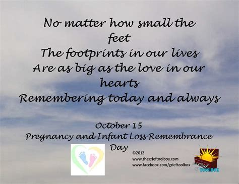October 15th Pregnancy and Infant loss remembrance day