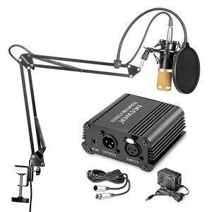 Neewer NW-800 Condenser Microphone (Gold) & NW-35