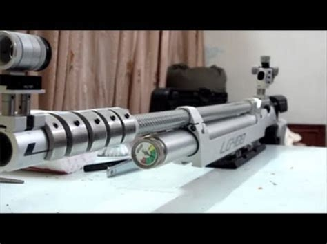 How To Clean Air Rifle - Walther LG400 Alutec Expert - YouTube