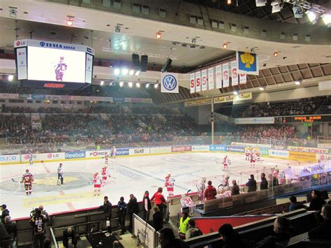 Czech Hockey Report: Rink Review: Tipsport Arena in Prague