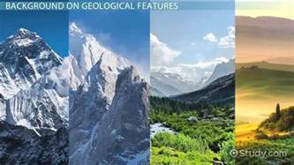 Geological Features: Definition & List - Video & Lesson
