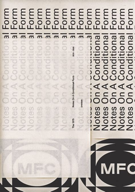 THE 1975 - Notes on a Conditional Form Album Poster