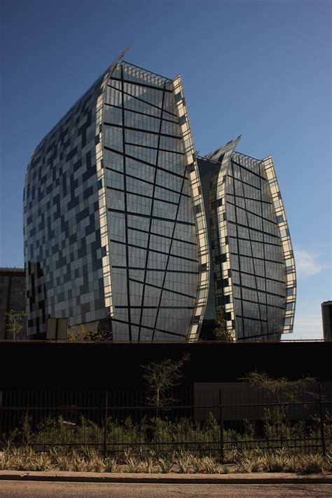 Modern Architecture, Sandton, South Africa   This building