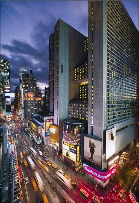 New York City Marriott Marquis Hotel in Times Square   New