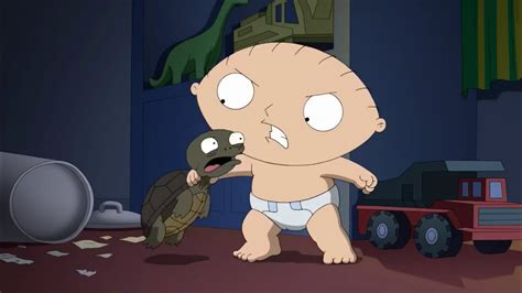 Family Guy - Stewie Griffin VS Evil Turtle - YouTube