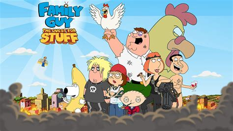 Family Guy: The Quest for Stuff Game Launches April 10th